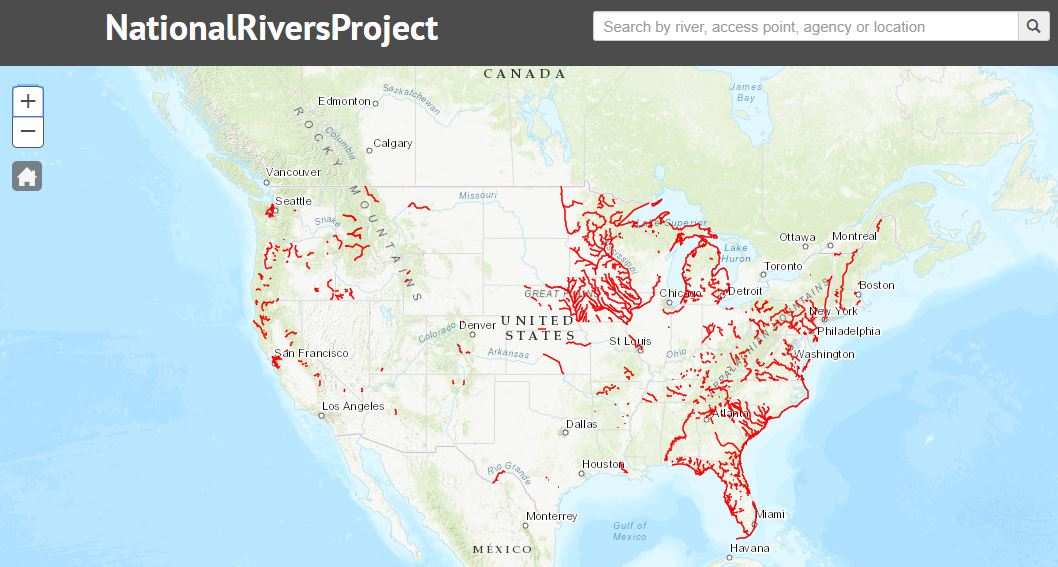 National Rivers Project Explorer Page
