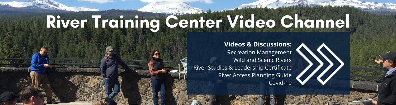River Training Center Video Channel